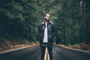 L'Homme, Route, Des Forêts, Hommes